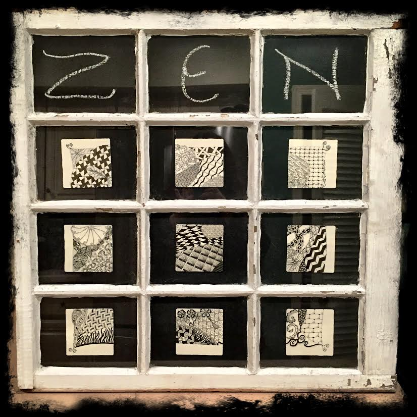 Window Zentangle