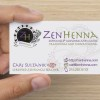 ZenHenna business card